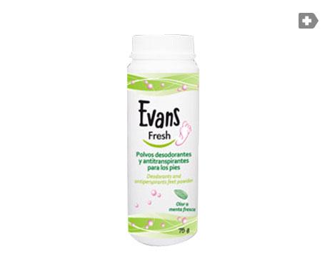 Evans Fresh polvos 75g
