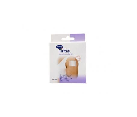 Tiritas Plastic Elastic apósito adhesivo 10x6cm 10uds