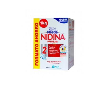 Nestlé Nidina Premium 2 Formato Ahorro 1 Kg
