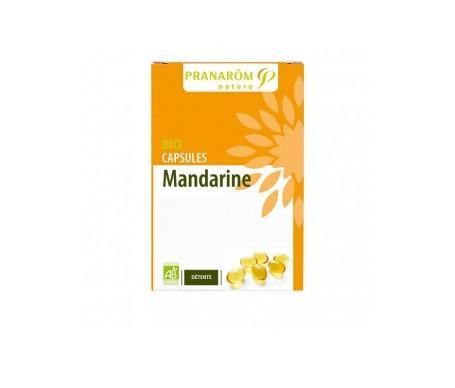 Pranarôm cápsulas de mandarina 30cáps