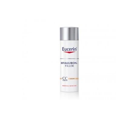Eucerin® Hyaluron Filler CC crema tono medio 50ml