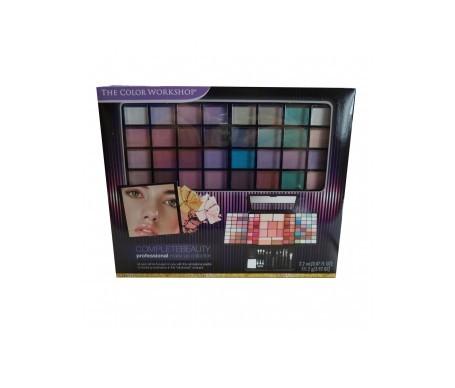 Markwins paleta compacta de maquillaje: 64 tonos + pinceles