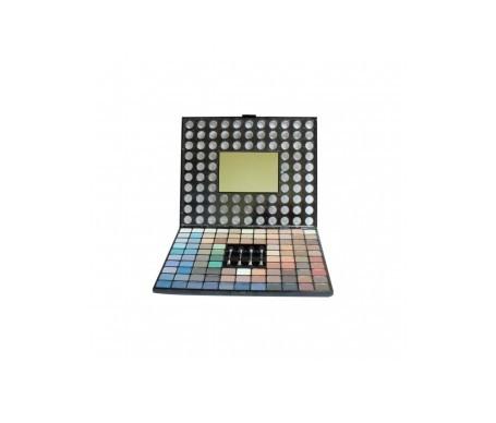 VicMartin Make-up Kit 98 Schatten + 4 Pinsel