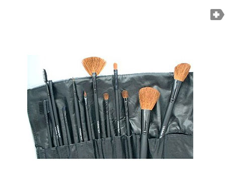 VicMartin kit 12 make-up brushes