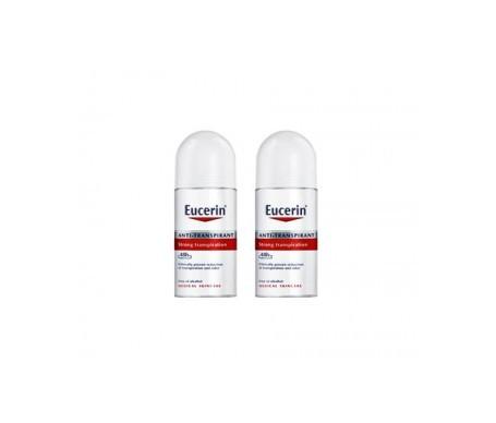 Eucerin® desodorante anti-transpirante 48h 50ml+50ml