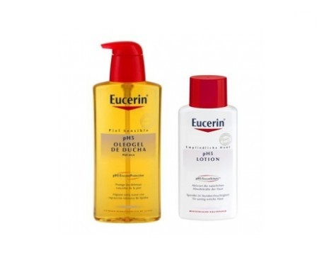 Eucerin® Oleogel de ducha pH5 400ml + loción 200ml