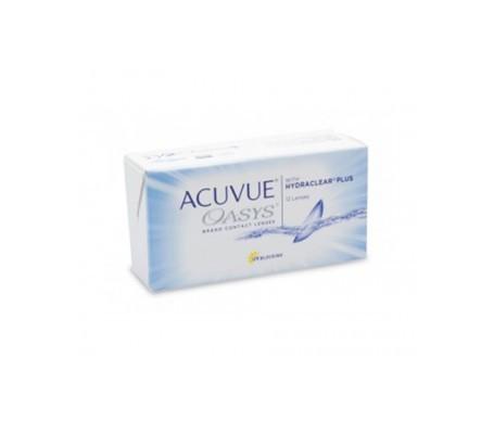 Acuvue® Oasys®  curva 8.4  12 uds dioptrías   +0,75