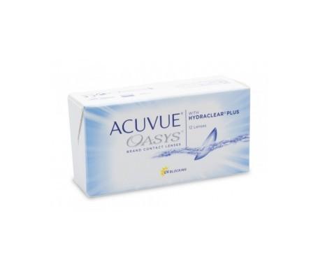 Acuvue® Oasys®  curva 8.4  12 uds dioptrías    +7,50