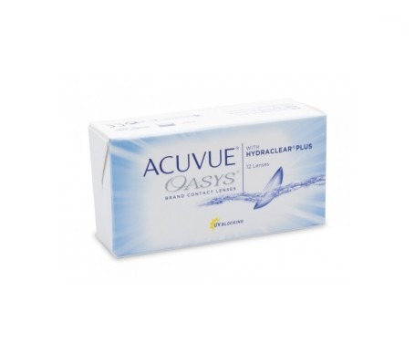 Acuvue® Oasys®  curva 8.4  12 uds dioptrías    +8,00