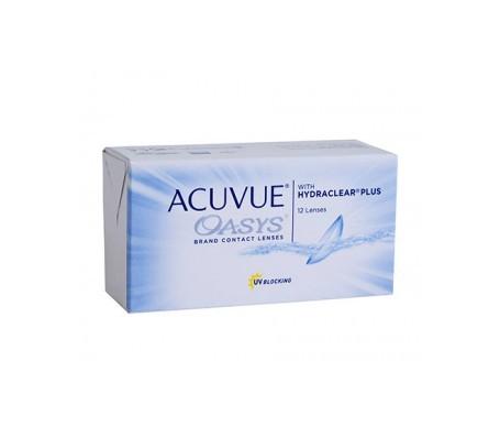 Acuvue® Oasys®  curva 8.4  12 uds dioptrías      -7,50