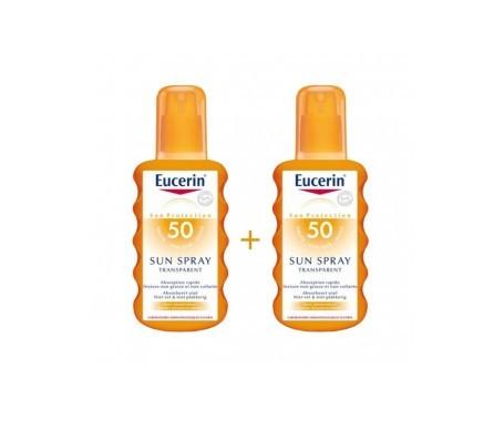Eucerin® Sun spray transparente SPF50+ 2x200ml
