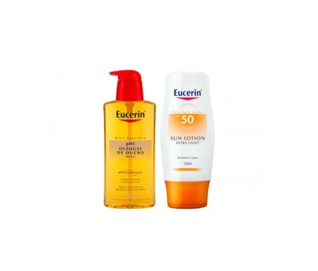 Eucerin® Sun Lotion Extra Light SPF50 150ml + Oleogel 200ml