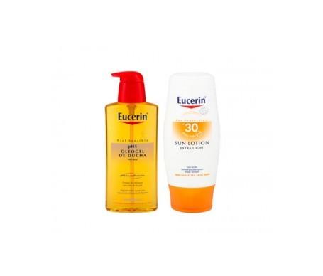 Eucerin® Sun Lotion Extra Light SPF30+ 150ml + Oleogel 200ml