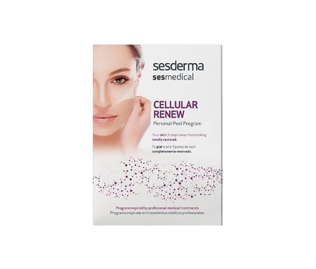 Sesderma Sesmedical Cellular Repair Personal Peel Program creams + wipes