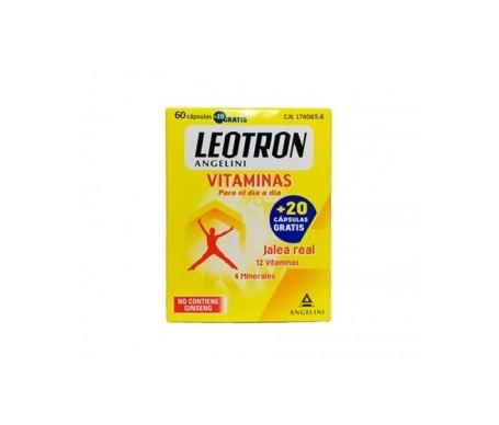 Leotron Vitamines 60caps + GIFT 20caps