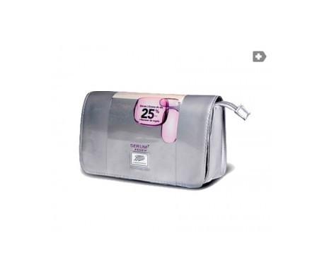 Serum7 Renew silver vanity case rénovateur sérum rénovateur 30ml + crème de jour restructurante 50ml
