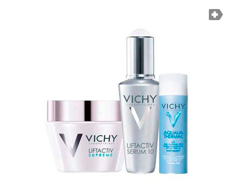 Vichy Liftactiv Supreme piel seca 50ml + sérum10 7ml + Aqualia Thermal 40ml