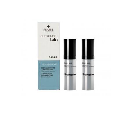 Cumlaude D-Clar concentrated depigmenting drops 30ml + GIFT 2 mini towels