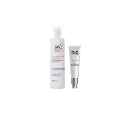 RoC™ Pro-Calm extra soothing cream 40ml + cleansing milk 200ml