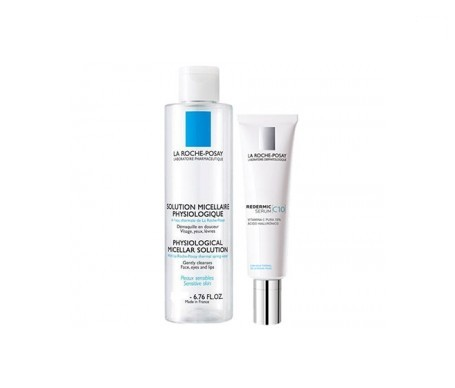 La Roche-Rosay Redermic C10 sérum 30ml + agua micelar 100ml