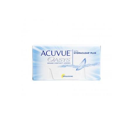 Acuvue® Oasys®  curva 8.4  24 uds dioptrías   -6