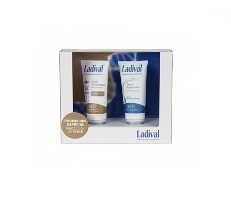 Ladival r emulsión antimanchas SPF30 50ml + sérum regenerador 50ml