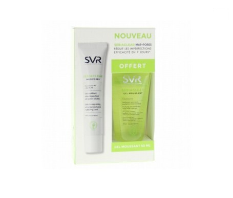 SVR Sebiaclear Active 40ml + gel limpiador 50ml
