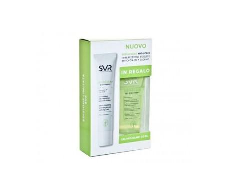 SVR Sebiaclear Mat-Pores 40ml + gel limpiador 50ml