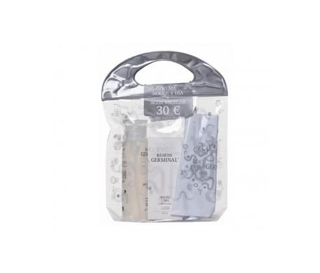 Germinal nuit et jour 50ml + eau micellaire 200ml + Gift pad 1ud 1ud