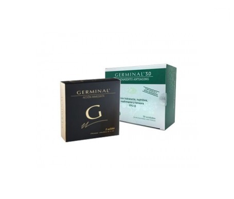 Germinal 3.0 antiaging treatment 30amp + Germinal Immediate Action 5amp