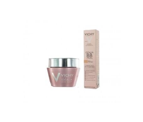 Vichy Idéalia BB SPF25+ medium shade 40ml + Idealia Skin Sleep night 50ml