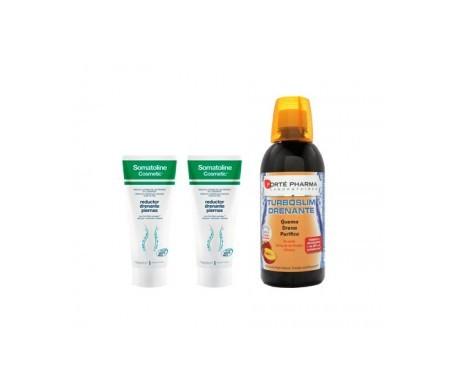 Somatoline® reductor drenante piernas 200ml+200ml + Turboslim drenante 500ml