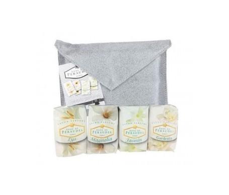 Klorane Pack Anne De Peraudel 4 jabones perfumados + bolso plata