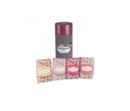 Klorane Pack Anne De Peraudel 4 jabones perfumados caja roja