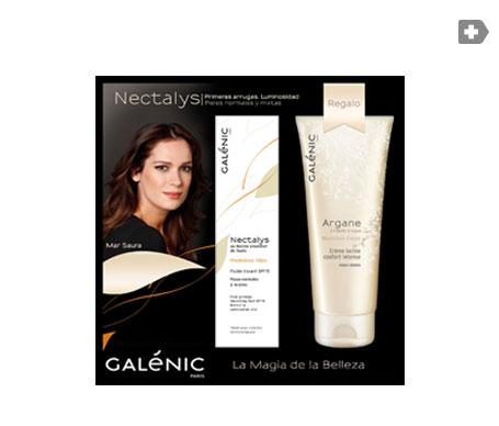Galénic Nectalys fluido SPF15+ 50ml + Argane crema leche corporal 100ml