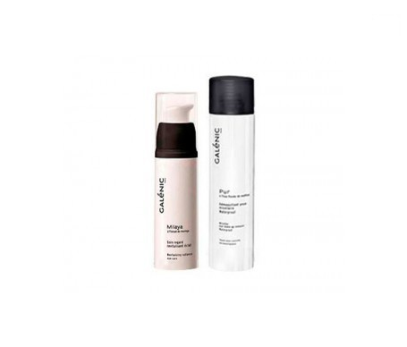 Galénic Milaya revitalizing eye care SPF10 for mature skin 15ml + micellar water for eyes 125ml