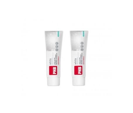 PHB White pasta dentifrica blanqueadora 125ml+125ml