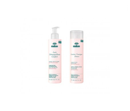 Nuxe make-up remover milk pack 200ml + tonic lotion 200ml