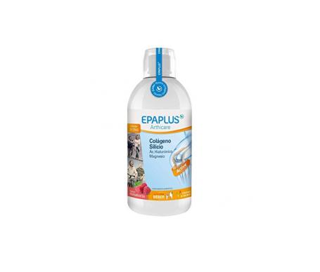 Epaplus Colágeno + Ác. Hialurónico sabor frambuesa 25 días 1l bebible