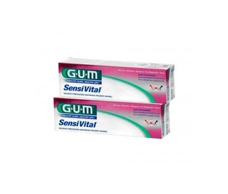 GUM® Sensivital gel dental 75ml+75ml