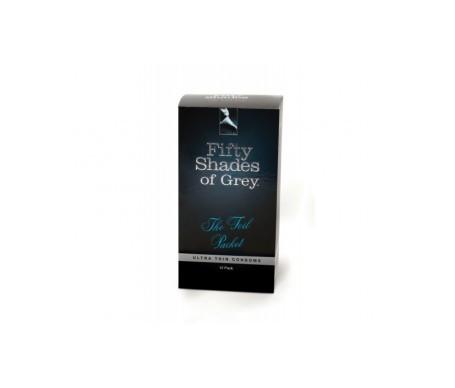 Cincuenta Sombras de Grey Grey preservativos 12uds