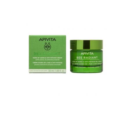 Apivita Bee Radiant light anti-ageing cream light texture 50ml