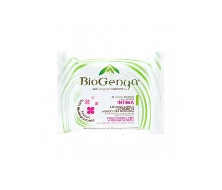 Biogenya ontimas lingettes 100% coton 20 pcs