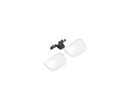 BBI lupa clip 1,5 aumentos sobre gafa 1ud