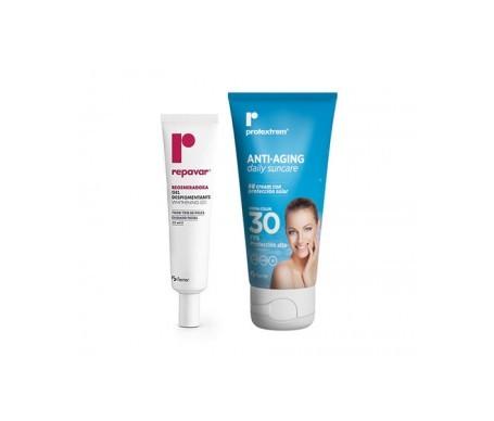Repavar gel despigmentante 15ml + BB Cream Protextrem SPF30 50ml