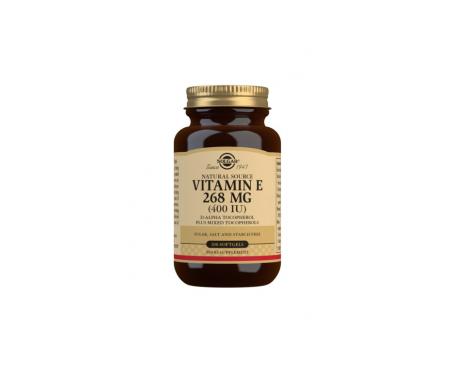 Solgar Vitamina E 268mg 100cáps Solgar Vitamina E 268mg 100cáps