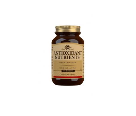 Solgar Nutrientes Antioxidantes 100comp