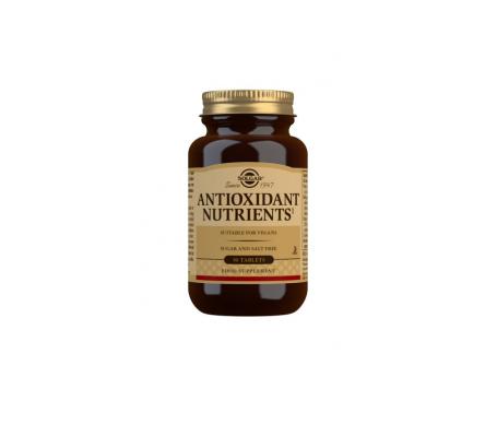 Solgar Nutrientes Antioxidantes 50comp