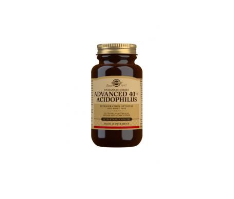 Solgar avanzado 40+ acidophilus 60cáps vegetales