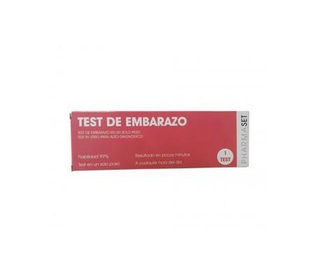 Pharmaset test embarazo 1ud